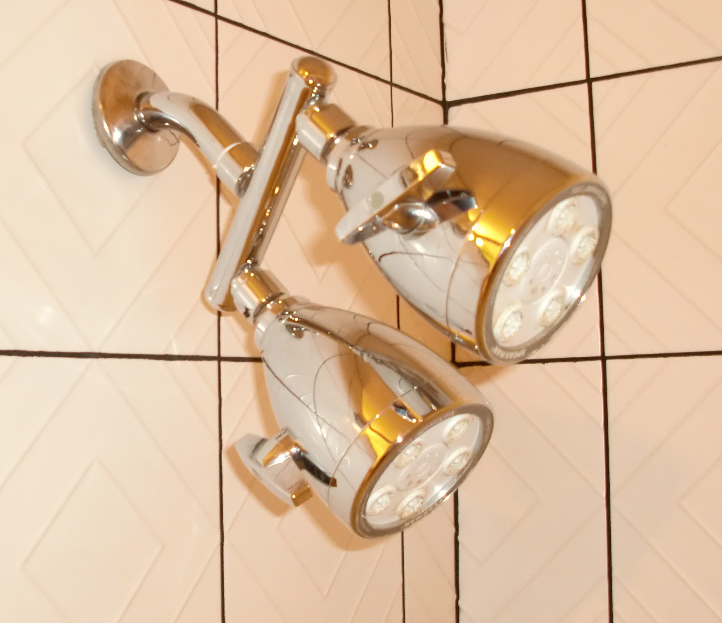 Cool Shower Head Indeed (but Better Looking Than Working)