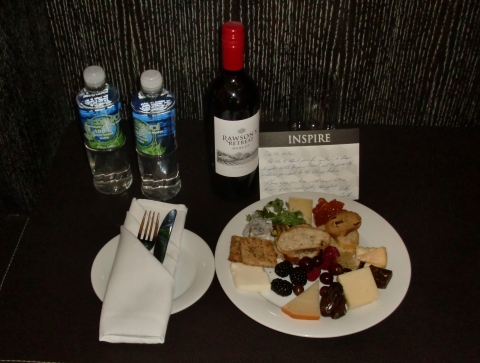 Kimpton welcome package.