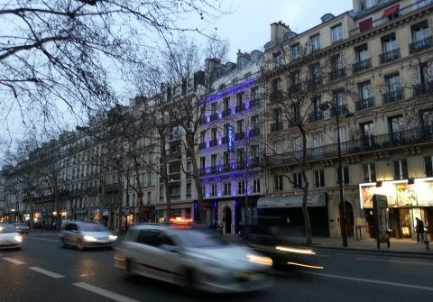 Paris has gorgeous boulevards.