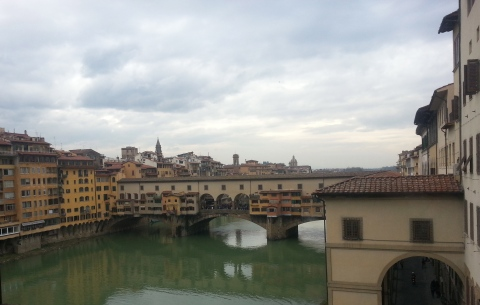 Ponte Vecchio from the Ufizzi.