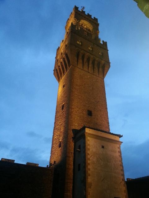 Palazzo vecchio torre.
