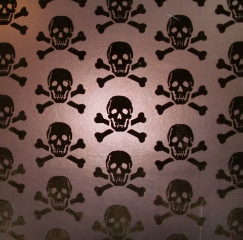 Coffee Workshop wallpaper.  ARRRR!