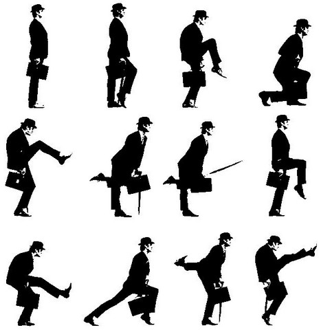 The Ministry of Silly Walks must run the Heathrow Express.