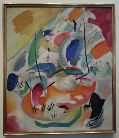 Kandinsky.  Improvisation 23.