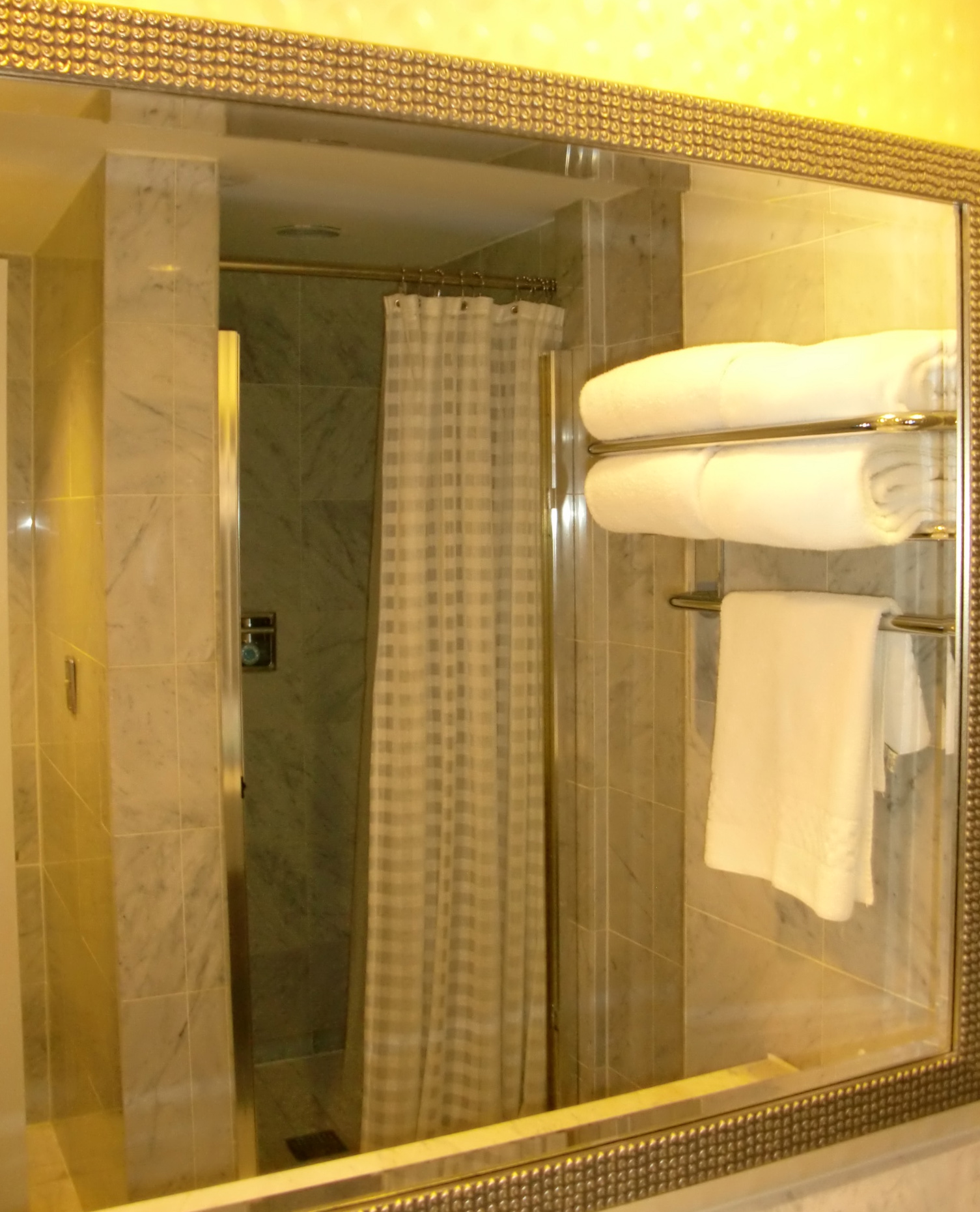 Kitchen Cabinets With Curtains Instead Of Doors: Shower Curtain Instead Of Glass Doors