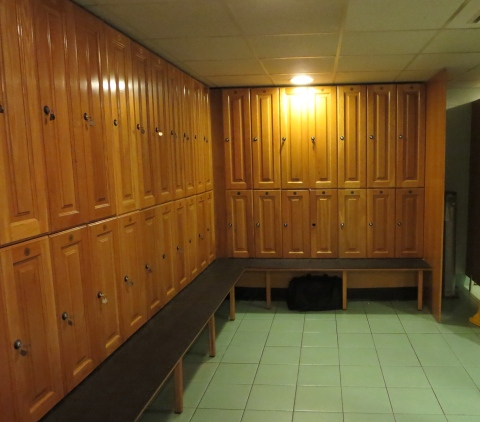Changing room.
