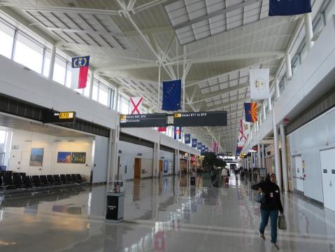 IAD Terminal B != Walmart Terminal A