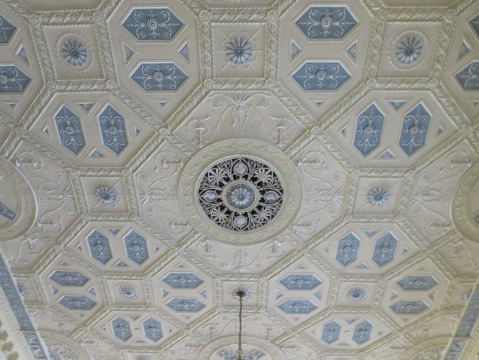 Gorgeous ceiling in the Biltmore ballroom.