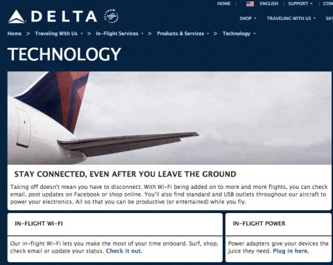 Delta wifi.