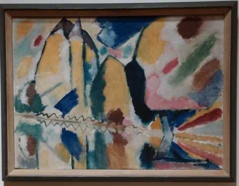 Kandinski at the Phillips.