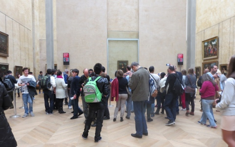 Mona Lisa scrum.