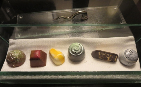 Chocolates made in house.