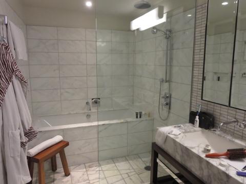 Glass shower in 2104