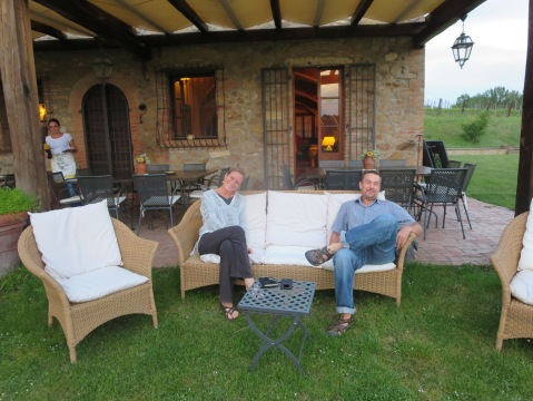 Eventually, in spite of Sabato in Italia, we made it to Tenuta Serravalle