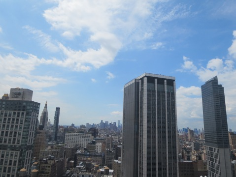 View from the Cigital apartment in NY.