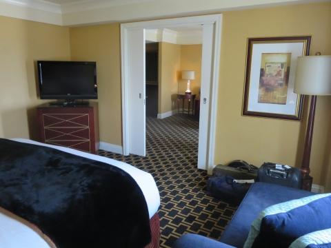 Bedroom 621 at Hotel Marlowe.