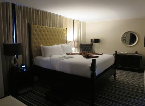 801 bedroom at Hotel George