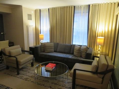 Room 801 (the presidential suite) at Hotel George
