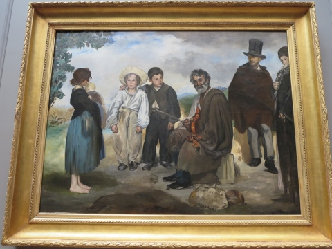 Manet at the cusp of impressionism and the academy.