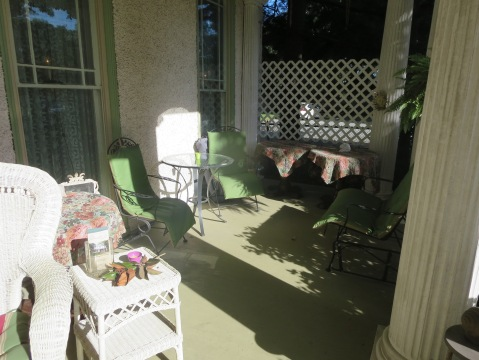 Daylight porch