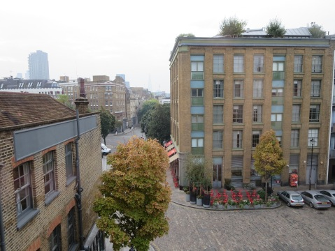 View from Zetter Townhouse room 11
