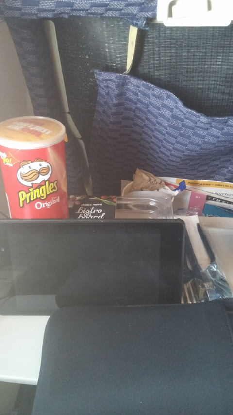 United: pringles that cost $, busted seats, and no wifi
