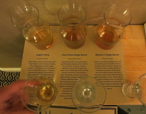 Bourbon flight