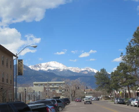 Pike's Peak: Colorado College