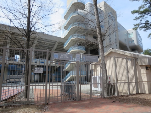 UNC: Centered around a stadium, or is that a prison?