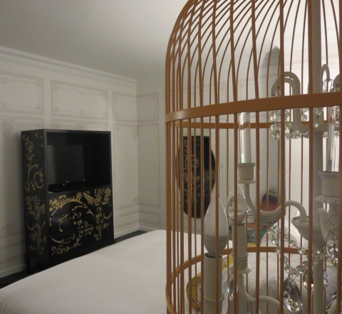 Birdcage light 835