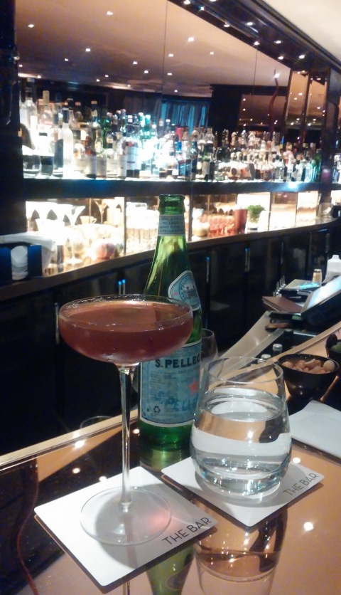Harry's cocktail from the bar