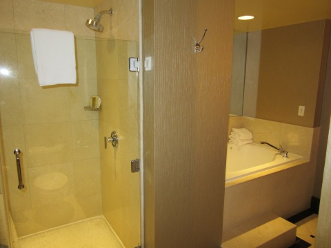 Glass shower in 820