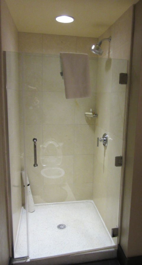 820 shower not plastic