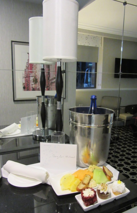 Kimpton Karma welcome amenity