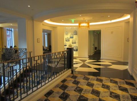 Living Room Landing Hotel Monaco Pittsburgh