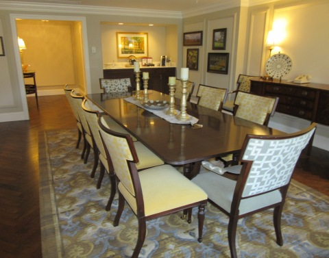 Dining: : Suite 4500, The Broadmoor