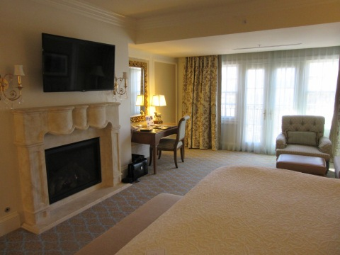 Fireplace too: Suite 4500, The Broadmoor