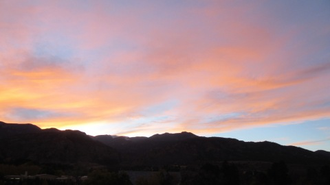 Sunset at the Broadmoor
