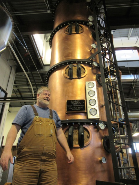 Todd Leopold and his new old still