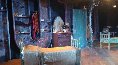 Red Orchid Theater: Set for Mutilations