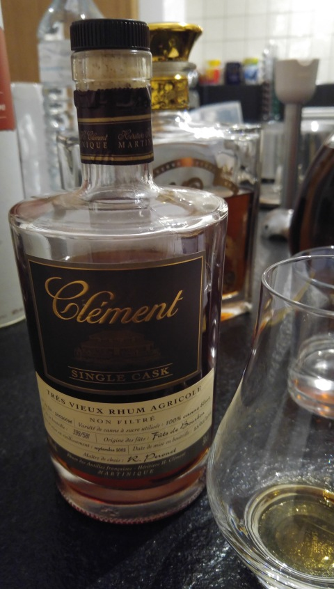 Clement single cask 9/02 (rhum agricole) - MARTINIQUE