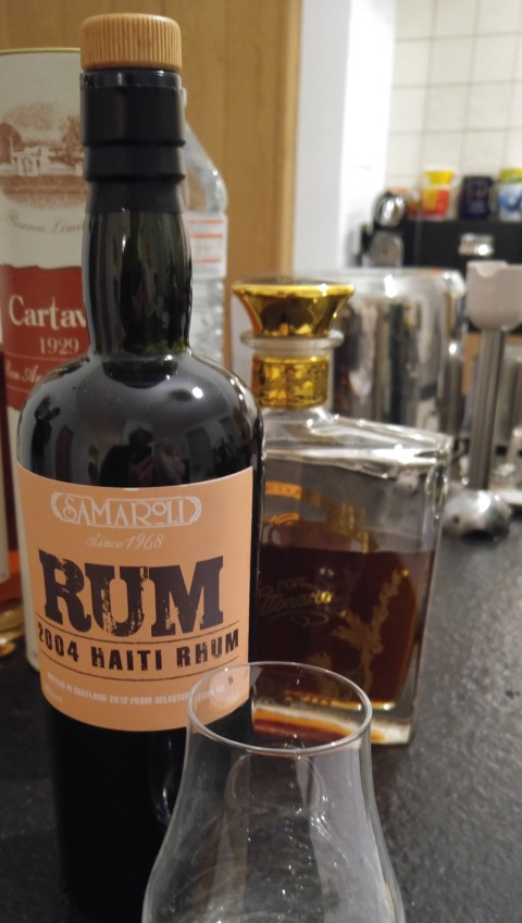 Samarold rum 2004 rhum (really?) cask #5 bottle 175 - HAITI