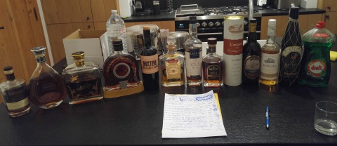 Rum re-ordered by notes and including dreft