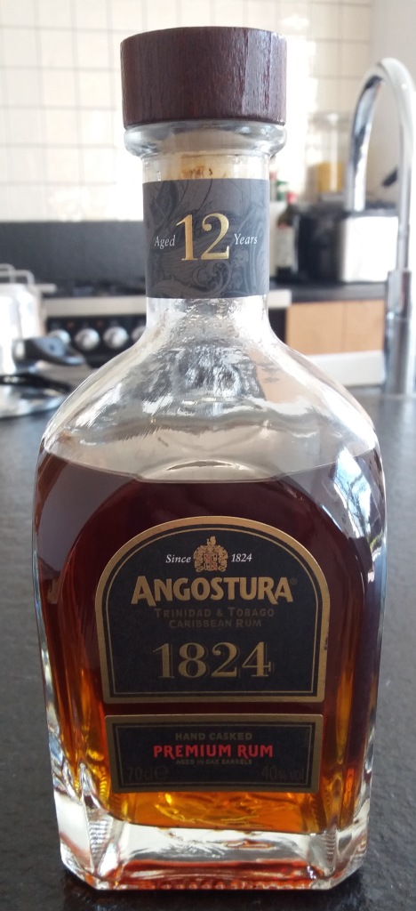 Angostura premium rum 1824 - TRINIDAD AND TOBAGO + SCOTLAND