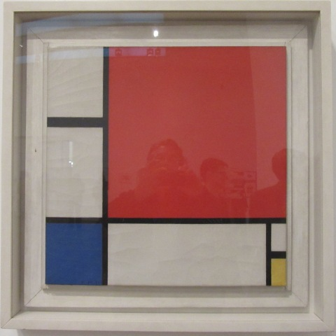 An actual Mondrian at the Tate Modern