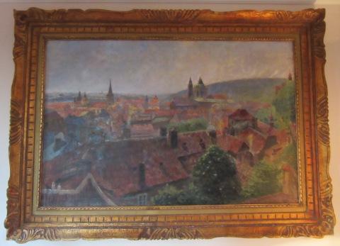 Art in room 25: Golden Well Hotel Prague