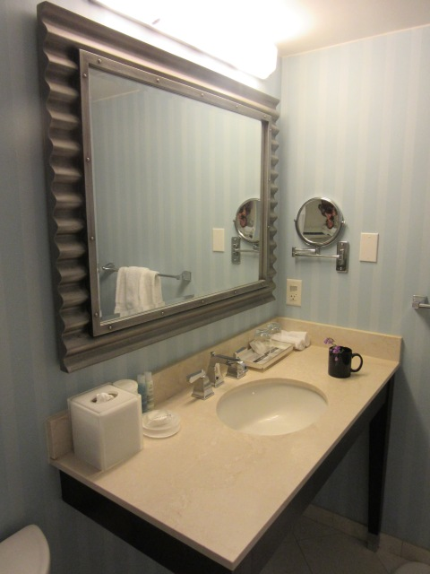 Bathroom console