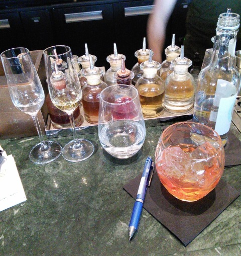 Working at Dandelyan (Gin and Arrack with a house Negroni chaser)