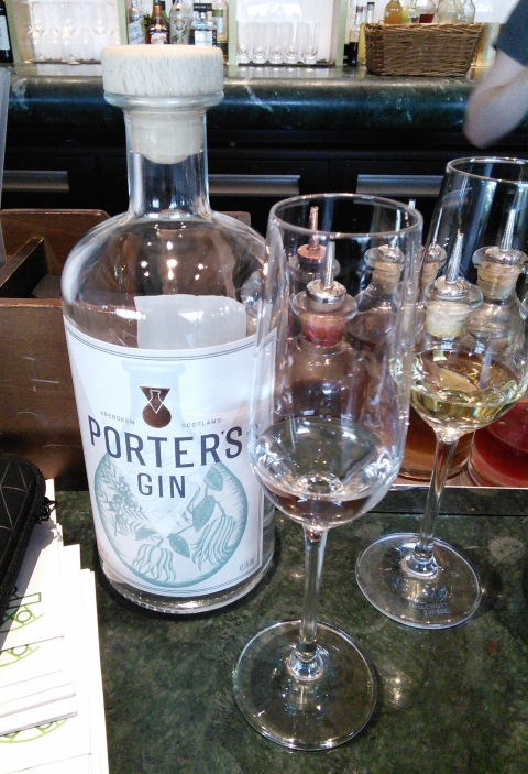 Porter's gin by Alex Lawrence