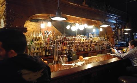 Ravens Club bar